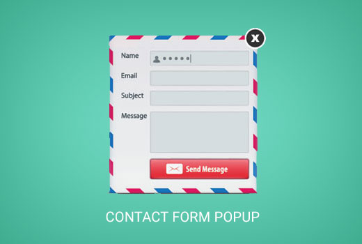 Creating a contact form popup in WordPress