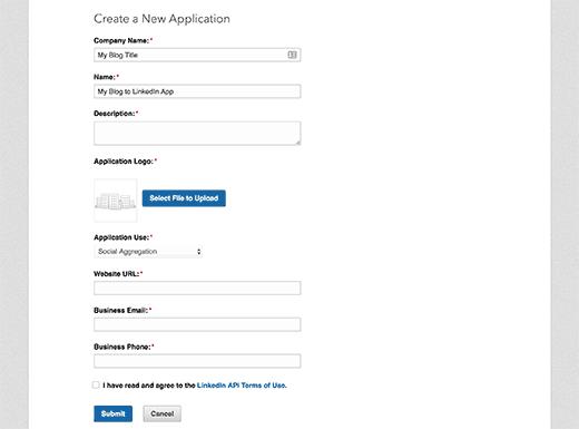 Maak een nieuw aanvraagformulier voor apps
