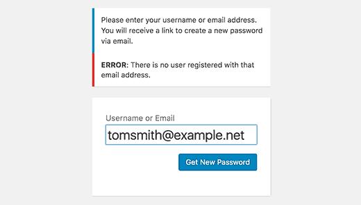 Geblokkeerd in het WordPress-beheergebied