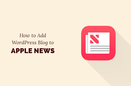 Add WordPress blog to Apple News