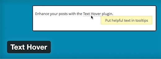Text Hover