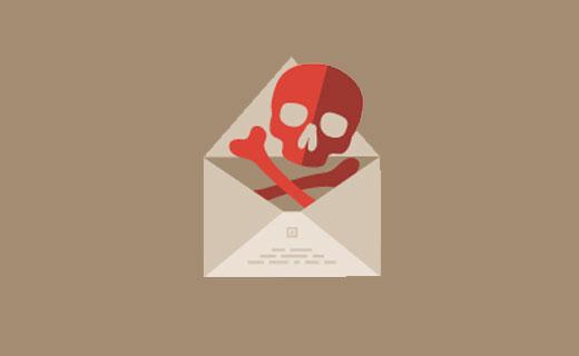 Email errors in WordPress