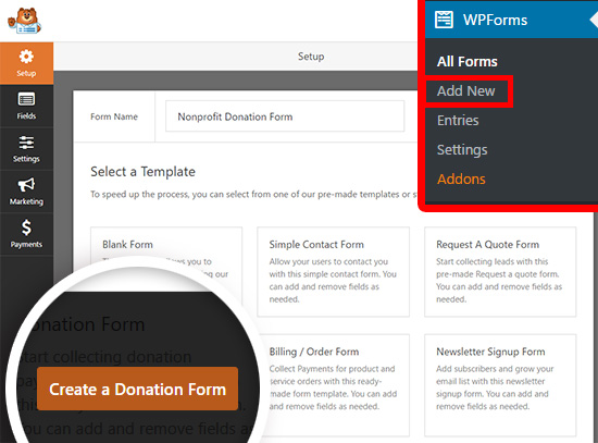 How To Create A Nonprofit Donation Form In WordPress
