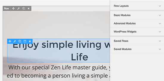 Klik en klik om een item te bewerken