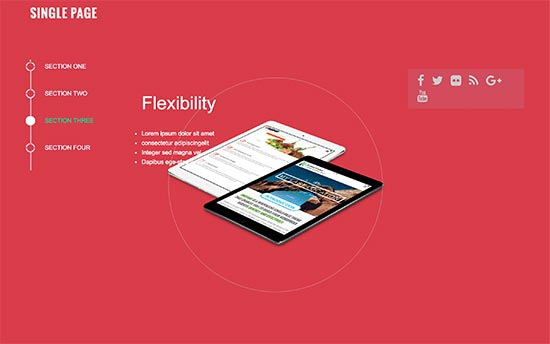 25 Best One Page WordPress Themes (2019)