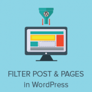 How to Let Users Filter Posts and Pages in WordPress