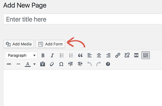 Add AWeber signup form to a post or page