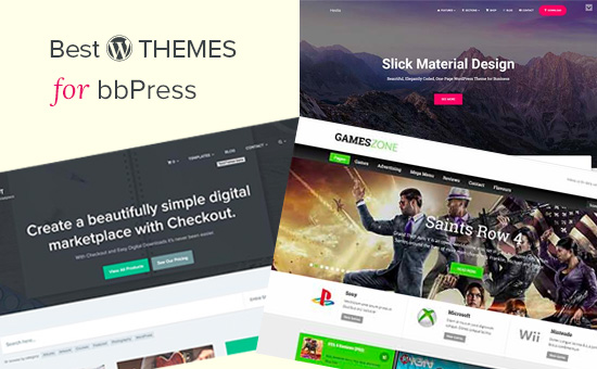 Best WordPress themes for bbPress