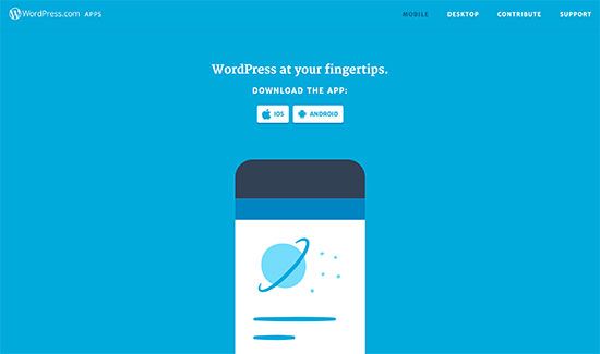 WordPress.com Apps