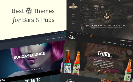 Best WordPress themes for bars and pubs