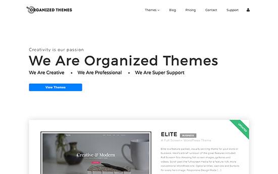 Organized Themes