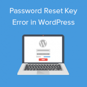 How to Fix Password Reset Key Error in WordPress