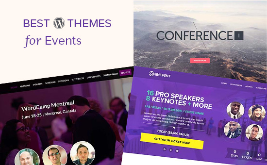 24 Best WordPress Themes for Events (2019)