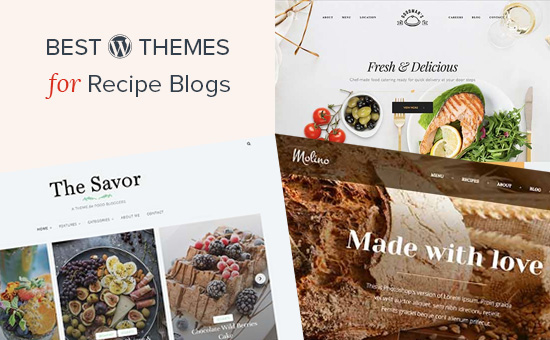 22 best wordpress themes for recipe and food blogs 2018 best wordpress themes for recipe blogs forumfinder
