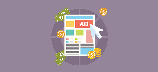 Display ads on your food blog