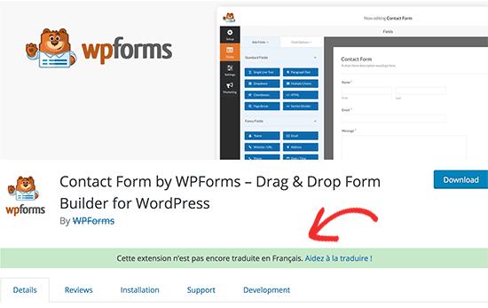 Help de plugin-melding op WordPress.org te vertalen