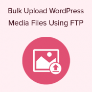 How to Bulk Upload WordPress Media Files using FTP