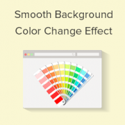 How to Add Smooth Background Color Change Effect in WordPress