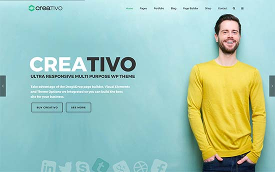 Creativo Best WordPress Multi-purpose Theme