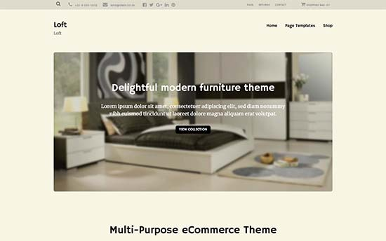Loft Best WordPress Multi-purpose Theme