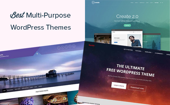 35 Best WordPress Multi-purpose Themes (2019)