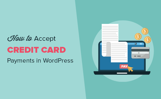 Accept credit card payments in WordPress