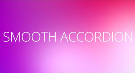 Smooth accordion