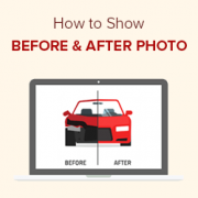 How to Show Before and After Photo in WordPress (with Slide Effect)
