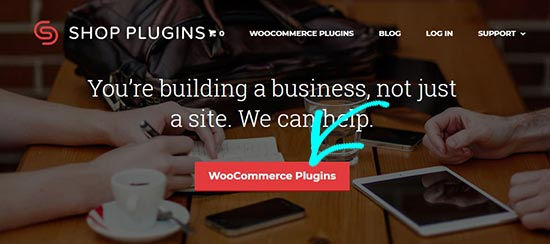 Shop plugins website