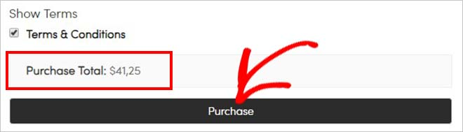 Purchase button