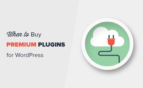 Wanneer is het waard om premium WordPress-plug-ins te kopen?