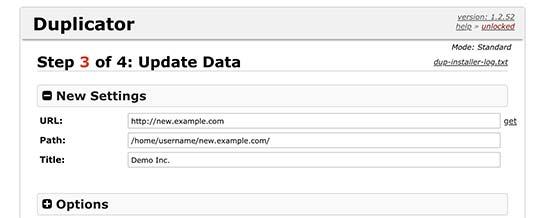 Nieuwe data