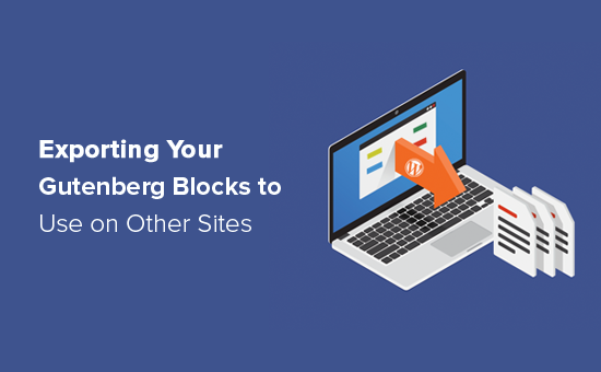 How to export your Gutenberg blocks