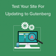 How to Test Your Site for Updating to Gutenberg (WordPress 5.0)