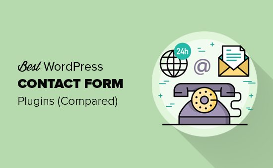 5 Best Contact Form Plugins For Wordpress Compared 2019