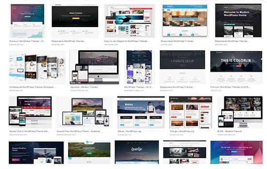 WordPress-thema's