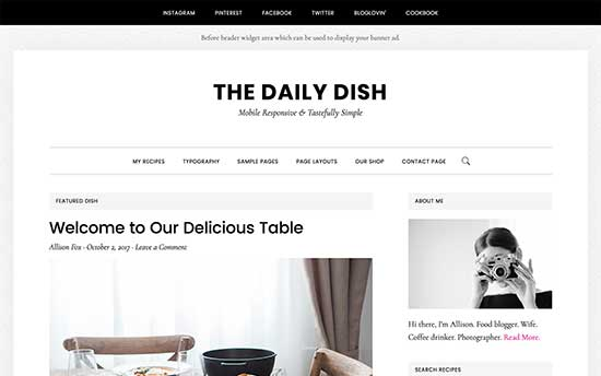 The Daily Dish Pro