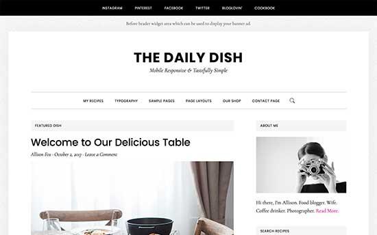 Il Daily Dish Pro
