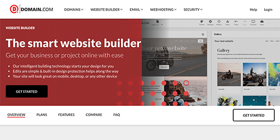Domain.com Website Builder