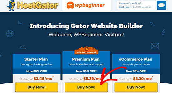 Gator Builder Site