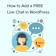 How to Add Free Live Chat in WordPress (The Easy Way)
