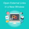How to Open External Links in a New Window in WordPress