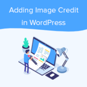 How to Add Image Credits in WordPress (Step by Step)