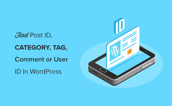 Finding WordPress Post ID, Category ID, Tag ID, Comment ID, User ID Easily