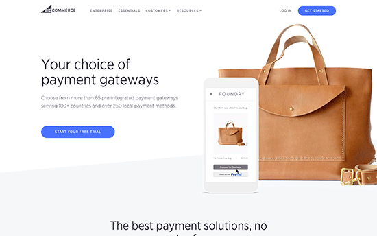 BigCommerce payment gateway