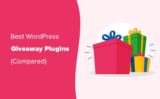 Best giveaway plugins