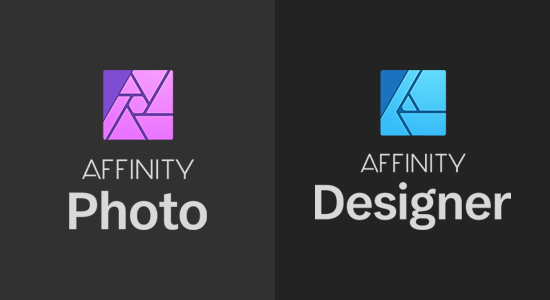 Affinity Designer and Photo