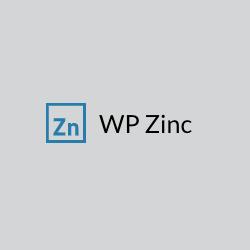 Get 35% off WP Zinc