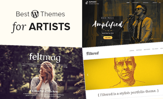 29 Best Wordpress Themes For Artists 2020