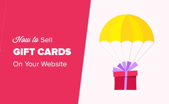 Cadeaubonnen verkopen op uw website